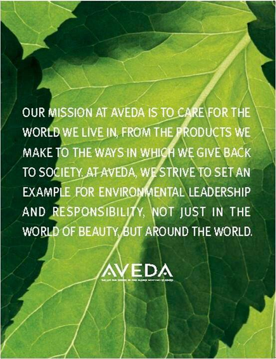 Aveda's Mission Statement