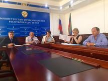 Заур Аскендеров принял участие в заседании Минздрав РД