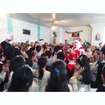 Новогодняя ёлка в детском домеселаАксай