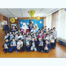 Новый год в Хасавюртовском детском доме