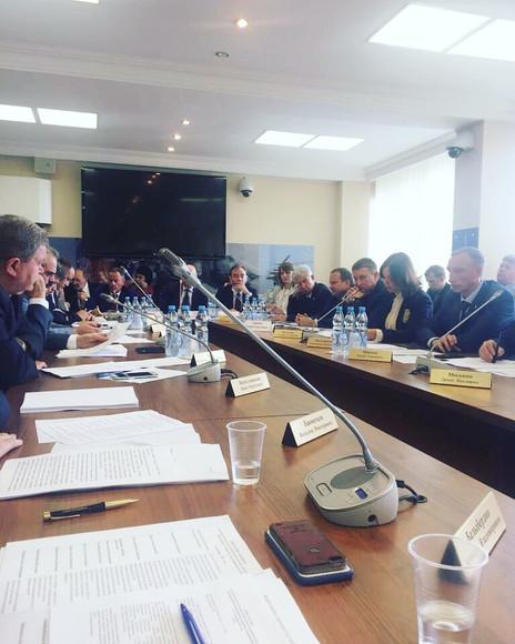 Заур Аскендеров принял участие в заседании комитета