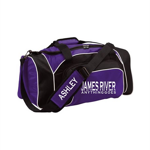 JAMES RIVER DUFFLE (personalization included)