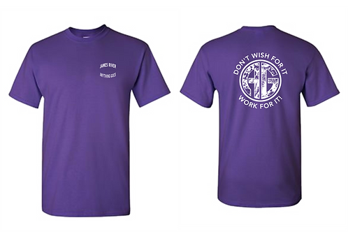 Required Camp Shirt Purple