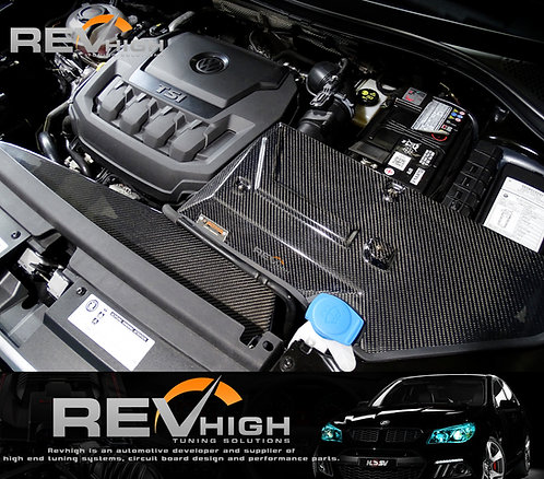 Volkswagen Tiguan 330 EA888 engine cover carbon fiber airbox Performance