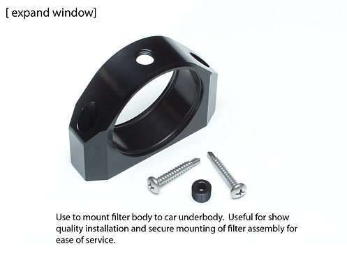 Add billet mounting bracket