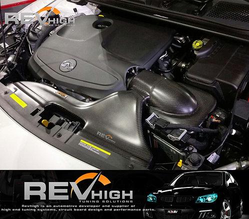 Infiniti Q30 1.6T carbon fiber airbox Performance cold air intake filter kit