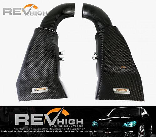 Audi RS5 Carbon fiber airbox Performance cold air intake filter kit