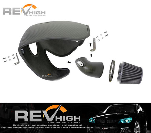 Ford Focus MK3 2.0 ST carbon fiber airbox Performance cold air intake filte