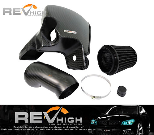 Ford Mustang 5.0l carbon fiber airbox Performance cold air intake filter kit