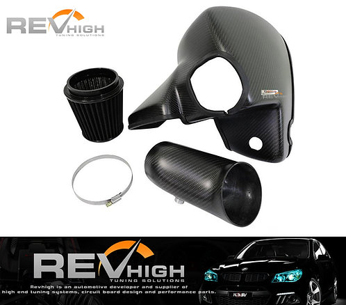 Ford Mustang 2.3l carbon fiber airbox Performance cold air intake filter kit