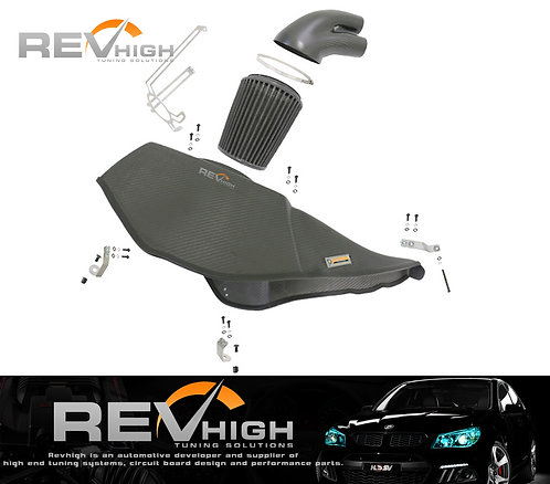 Audi S6 C7 4.0T Carbon fiber airbox Performance cold air intake filter kit