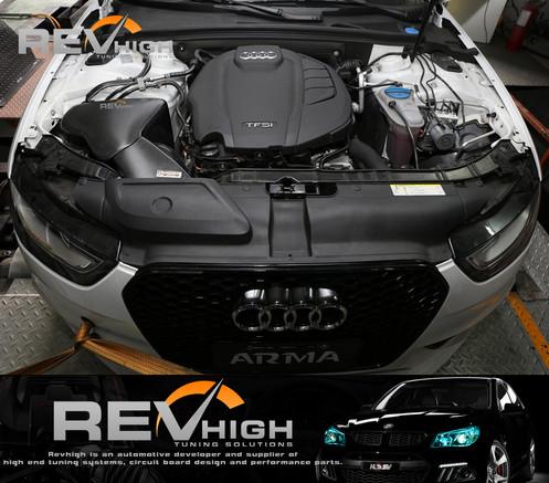 Audi A5 B8 5 2 0t Carbon Fiber Airbox Performance Cold Air Intake Filter Kit
