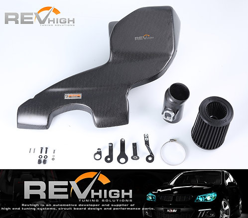 Mini F55 carbon fiber airbox Performance cold air intake filter kit
