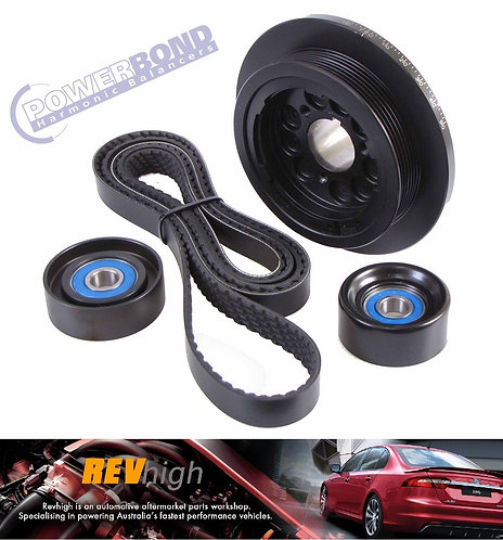 Ford BA BF Falcon XR6 Powerbond Pulley Kit
