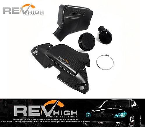 BMW E89 Z4 30i N52B30 carbon fiber airbox Performance cold air intake filter kit