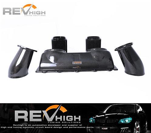 Ferrari 458  carbon fiber airbox Performance cold air intake filter kit
