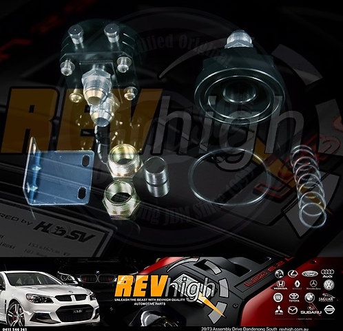 Oil Filter Relocation Kit Holden Caprice L67 3.8L V6 Supercharged VS VU VT VX VY