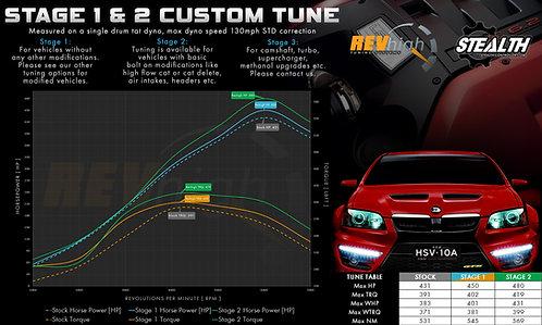 Holden Special Vehicles HSV E Series (VE) 6.2L V8 LS3 (Manual) Custom Tune
