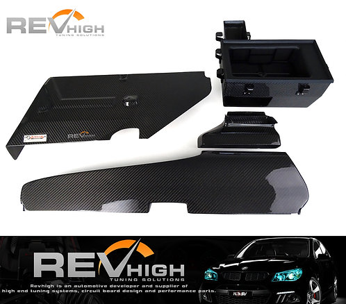 Volkswagen Tiguan 330 EA888 carbon fiber inbox +induct+oem air filter