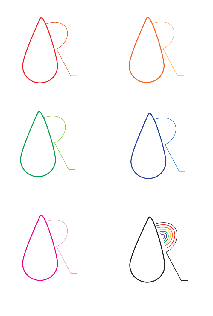 Comitting to the droplet icon and playing with color