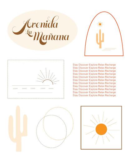 A promotional/souvenir  sticker sheet