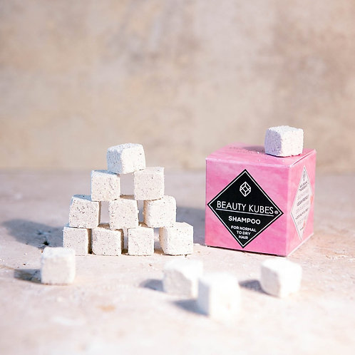 Solid cube shampoo - Normal to Dry hair