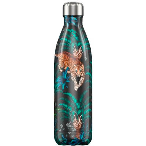Chilly's - Reusable bottle 750ml Tropical Leopard