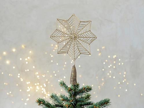Giant star tree topper