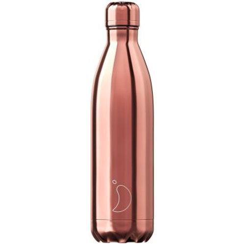 Chilly's - Reusable bottle 750 ml - Chrome