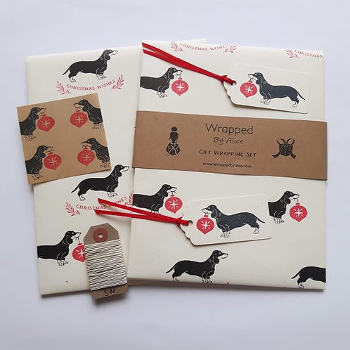 Christmas gift wrapping sets