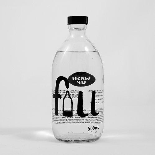 500ml Washing up liquid (ginger) in glass bottle