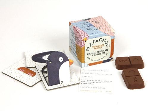 PLAYin CHOC - Vegan chocolate and toy