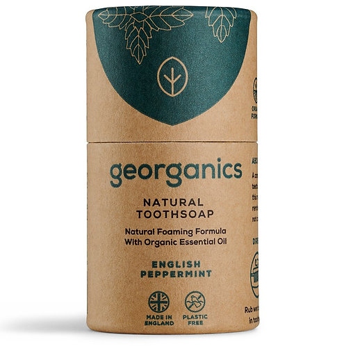 Toothpaste soap - English peppermint