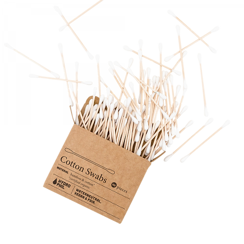 Plastic free cotton buds (100 per pack)