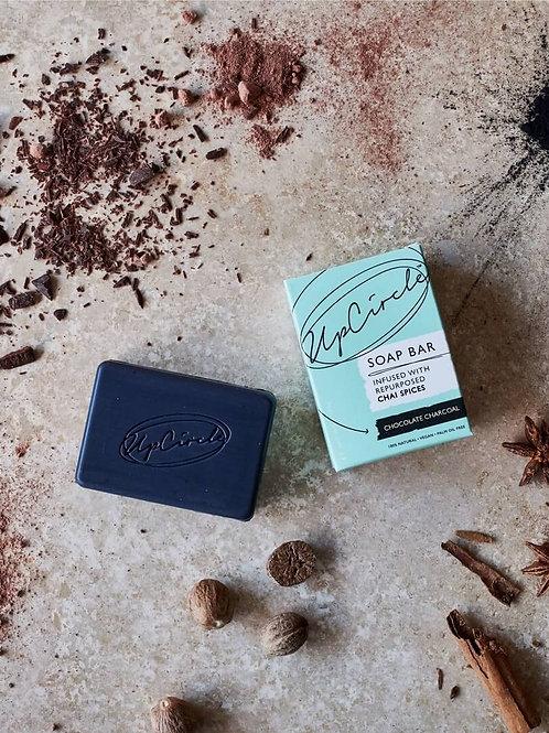 Chocolate Charcoal soap bar