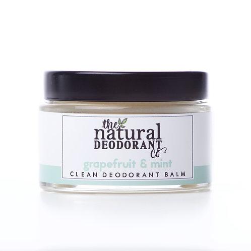 Clean Deodorant Balm - Grapefruit & Mint