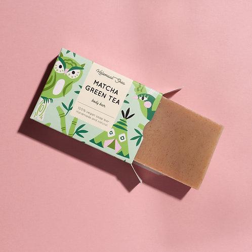 Matcha green tea soap bar