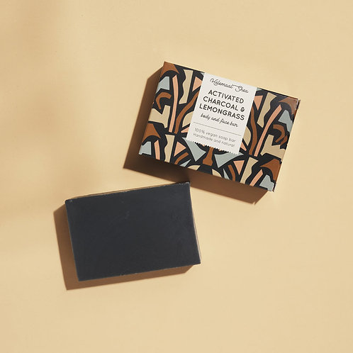 Activated charcoal and Lemongrass bar