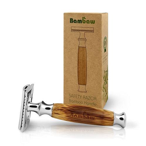 Bamboo handle safety razor