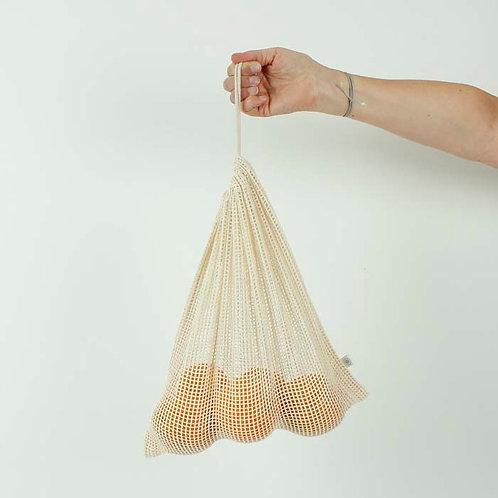 Organic mesh cotton XL produce bag (43 x 50cm)