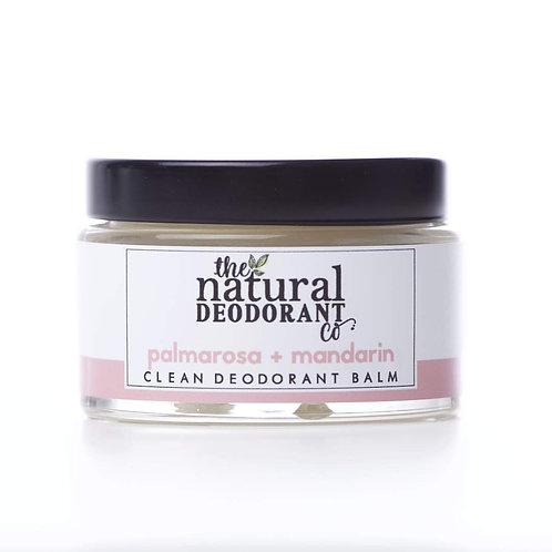 Clean Deodorant Balm - Palmarosa + Mandarin