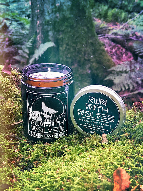 Run with Wolves- Green Lavender (180ml)