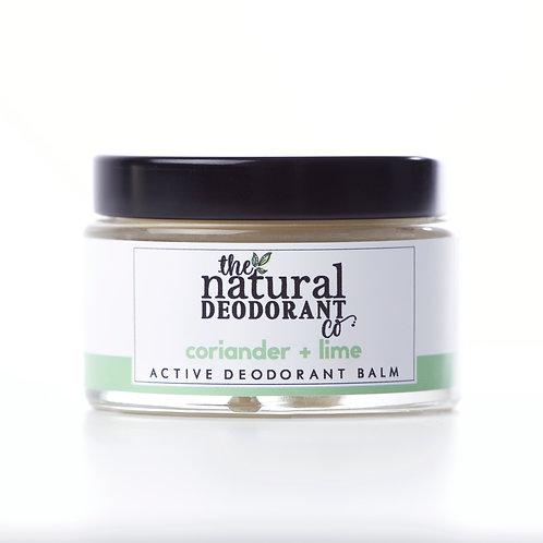 Active Deodorant Balm - Coriander & Lime
