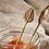 Thumbnail: Brass condiment spoons