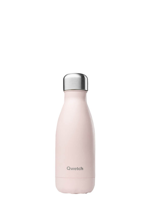 Qwetch - Insulated reusable bottle pink [260ml]