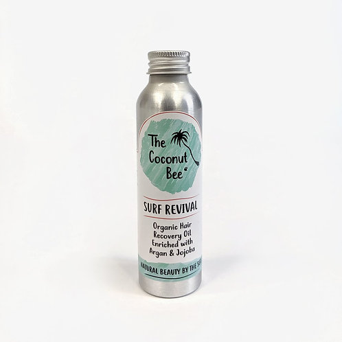 Organic hair recovery oil