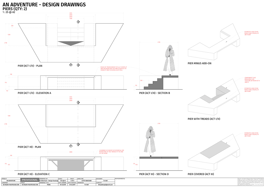 AN ADVENTURE DESIGN DRAWINGS - BUILT ELE