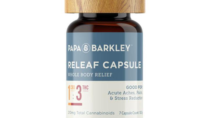 Papa & Barkley Releaf™ Capsules 1:3 CBD:THC - 7CT