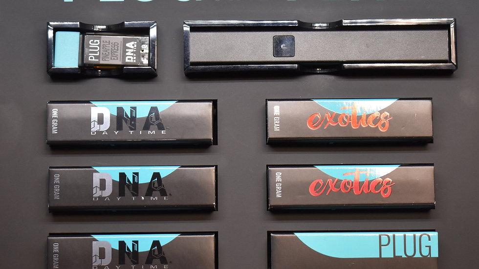Plug Play 1 Gram Vap Cartridges - 7 Strains
