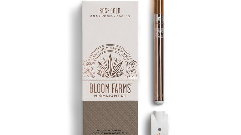 Bloom Farms Rose Gold (1:1 CBD) Highlighter Complete Set